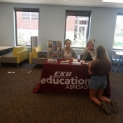 Education Abroad table