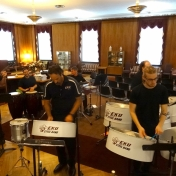 EKU's Steel Drum Band entertains