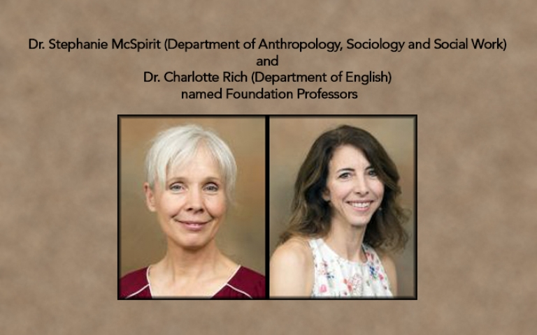Dr. Stephanie McSpirit and Dr. Charolotte Rich