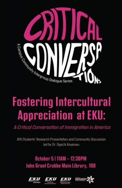 AFA and the Center for Africana Engagement have partnered with EKU Libraries and