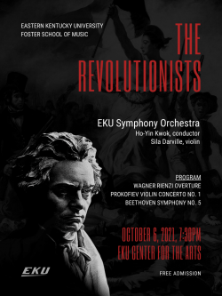 The #EKU Symphony Orchestra is performing on Oct 6 7:30 at the Center for the Pe