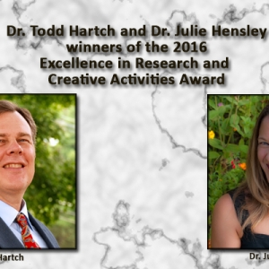 Todd Hartch and Julie Hensley