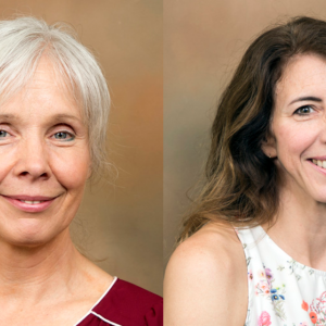 Stephanie McSpirit (left) and Charlotte Rich (right) named Foundation Professors